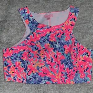 Like New Lilly Pulitzer Crop Top